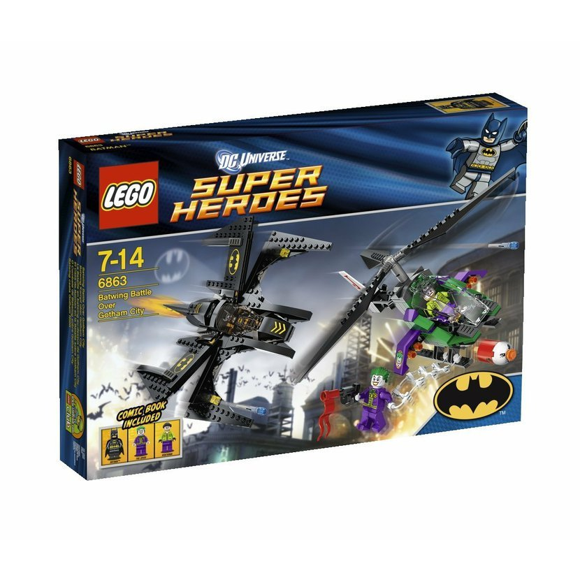 53ce8350e LEGO Super Heroes 6863 Batmanova bitva nad Gotham City